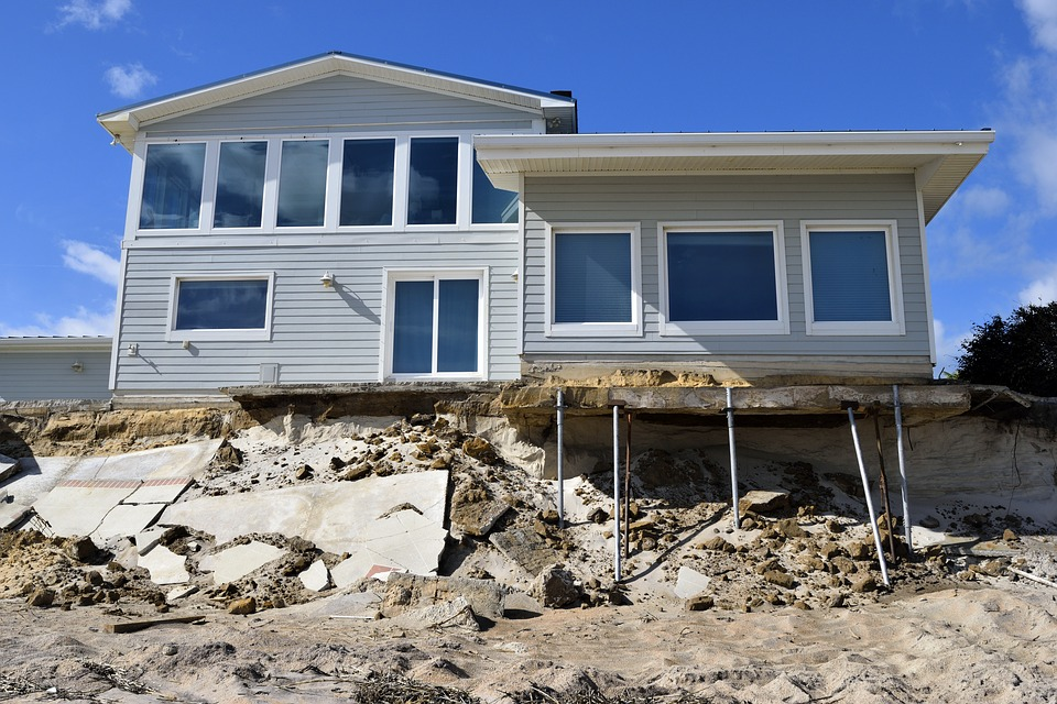 Beach Erosion Property